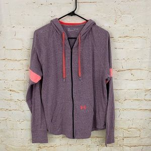 COPY - Under Armour XL zip up hooded sweatshirt e…